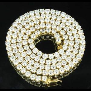Other - Premium Tennis Chain Gold 4mm💎